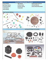 Custom Molding Rubber Products